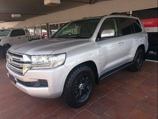 2015 Toyota Landcruiser VDJ200R MY16 GXL (4x4) Silver Pearl 6 Speed Automatic Wagon