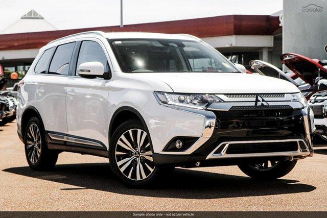 Demo Mitsubishi Outlander ZL MY20 LS 2WD, 2019 Mitsubishi Outlander ZL MY20 LS 2WD White 6 Speed Constant Variable Wagon