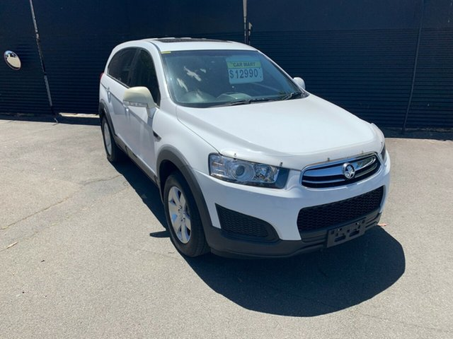 Used Holden Captiva CG MY14 7 LS, 2014 Holden Captiva CG MY14 7 LS White 6 Speed Sports Automatic Wagon