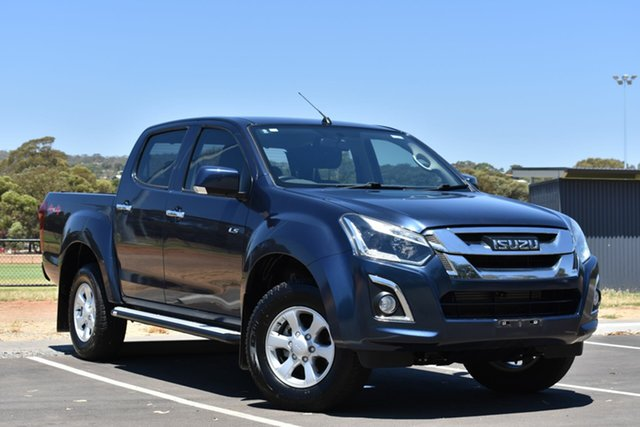 Used Isuzu D-MAX MY17 LS-M Crew Cab, 2017 Isuzu D-MAX MY17 LS-M Crew Cab Blue 6 Speed Sports Automatic Utility