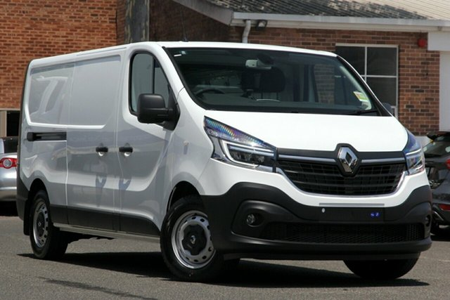 New Renault Trafic X82 MY21 Premium Low Roof LWB 103kW Nailsworth, 2020 Renault Trafic X82 MY21 Premium Low Roof LWB 103kW Glacier White 6 Speed Manual Van