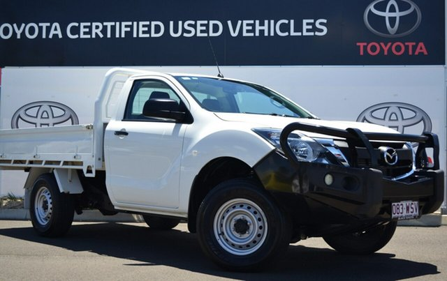 Used Mazda BT-50 MY16 XT (4x4), 2016 Mazda BT-50 MY16 XT (4x4) 6 Speed Manual Cab Chassis