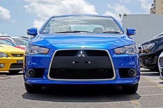 2015 Mitsubishi Lancer CJ MY15 ES Sport Blue 5 Speed Manual Sedan.