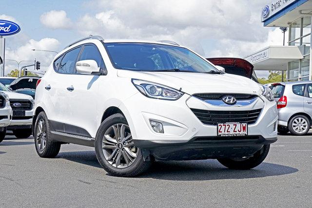 Used Hyundai ix35 LM3 MY15 Elite, 2014 Hyundai ix35 LM3 MY15 Elite White 6 Speed Sports Automatic Wagon