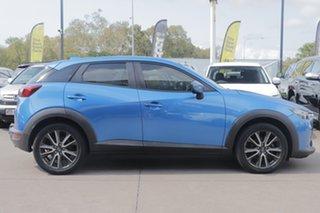 2015 Mazda CX-3 DK4WSA sTouring SKYACTIV-Drive i-ACTIV AWD Blue 6 Speed Sports Automatic Wagon.