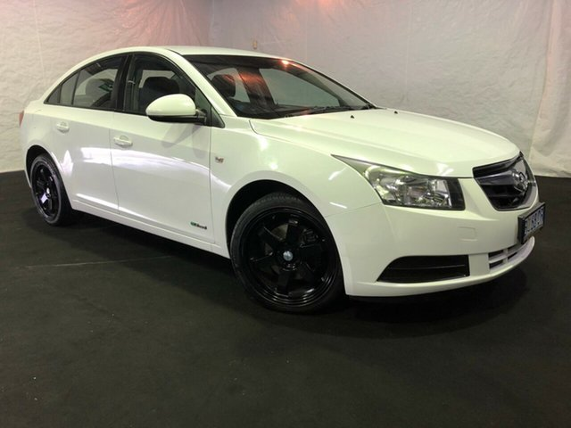 Used Holden Cruze JG CD, 2009 Holden Cruze JG CD Arctic White 6 Speed Sports Automatic Sedan