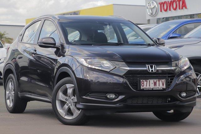 Used Honda HR-V MY16 VTi-S, 2016 Honda HR-V MY16 VTi-S Dark Grey 1 Speed Hatchback
