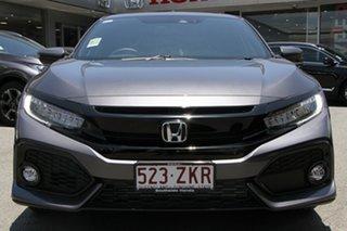 2019 Honda Civic 10th Gen MY19 VTi-LX Modern Steel 1 Speed Constant Variable Hatchback.