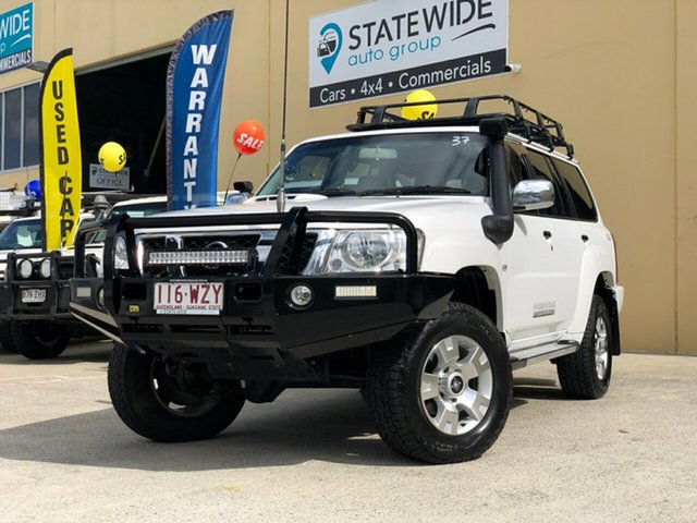 Used Nissan Patrol GU VIII TI (4x4), 2013 Nissan Patrol GU VIII TI (4x4) White 4 Speed Automatic Wagon