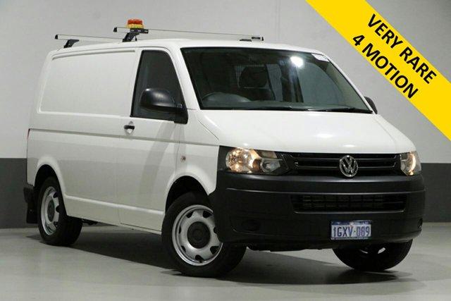 Used Volkswagen Transporter T5 MY15 TDI 400 LWB LOW 4MOTION, 2014 Volkswagen Transporter T5 MY15 TDI 400 LWB LOW 4MOTION White 6 Speed Manual Van