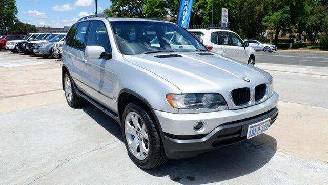 Used BMW X5 E53 Steptronic, 2003 BMW X5 E53 Steptronic Silver 5 Speed Sports Automatic Wagon