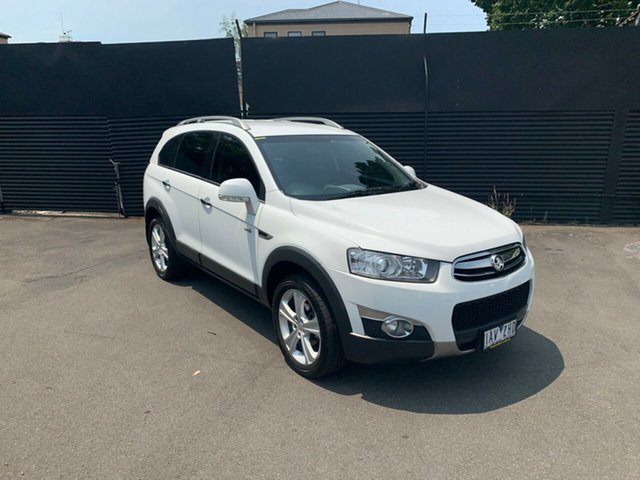Used Holden Captiva CG Series II 7 AWD CX, 2011 Holden Captiva CG Series II 7 AWD CX White 6 Speed Sports Automatic Wagon