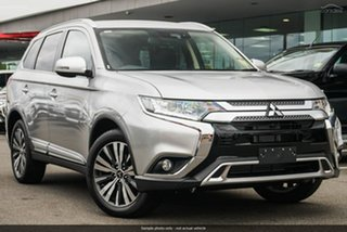 2019 Mitsubishi Outlander ZL MY20 LS 2WD Silver 6 Speed Constant Variable Wagon.