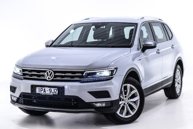 Used Volkswagen Tiguan 5N MY18 110TDI Comfortline DSG 4MOTION Allspace, 2018 Volkswagen Tiguan 5N MY18 110TDI Comfortline DSG 4MOTION Allspace Silver 7 Speed