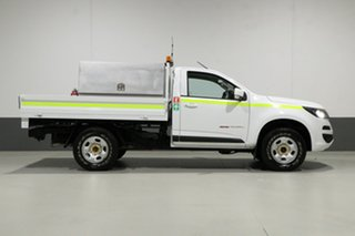 2017 Holden Colorado RG MY17 LS (4x4) White 6 Speed Automatic Cab Chassis