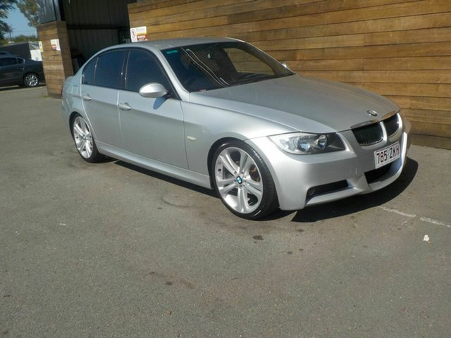 Used BMW 3 Series E90 320i Steptronic Executive, 2006 BMW 3 Series E90 320i Steptronic Executive Silver 6 Speed Sports Automatic Sedan