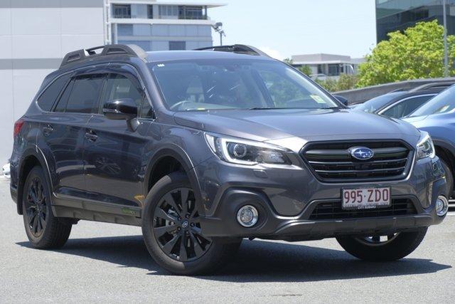 Demo Subaru Outback B6A MY19 2.5i-X CVT AWD, 2019 Subaru Outback B6A MY19 2.5i-X CVT AWD Magnetite Grey 7 Speed Constant Variable Wagon