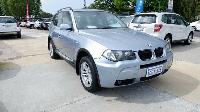 Used BMW X3 E83 MY06 Steptronic, 2006 BMW X3 E83 MY06 Steptronic Blue 5 Speed Sports Automatic Wagon