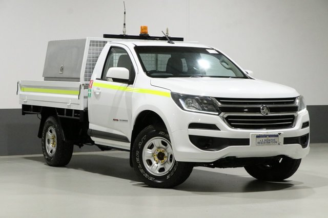 Used Holden Colorado RG MY17 LS (4x4), 2017 Holden Colorado RG MY17 LS (4x4) White 6 Speed Automatic Cab Chassis