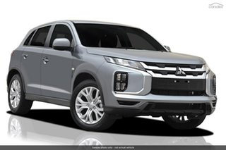 2019 Mitsubishi ASX XD MY20 ES 2WD Silver 6 Speed Constant Variable Wagon.