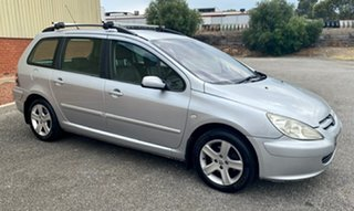 2004 Peugeot 307 T5 MY04 XSE Silver 4 Speed Sports Automatic Hatchback.