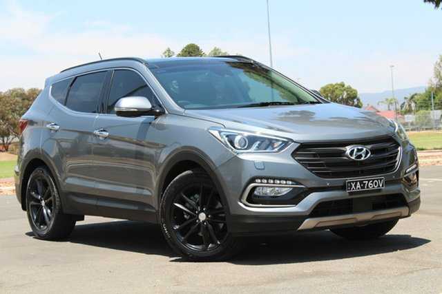 Used Hyundai Santa Fe DM5 MY18 Highlander, 2017 Hyundai Santa Fe DM5 MY18 Highlander Grey 6 Speed Sports Automatic Wagon