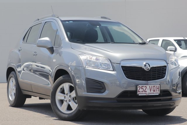 Used Holden Trax TJ MY14 LS, 2014 Holden Trax TJ MY14 LS Grey 6 Speed Automatic Wagon
