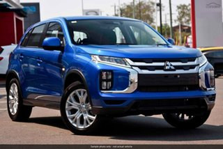 2019 Mitsubishi ASX XD MY20 ES 2WD Blue 6 Speed Constant Variable Wagon.