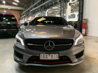 2014 Mercedes-Benz CLA-Class C117 805+055MY CLA250 DCT 4MATIC Sport Grey 7 Speed