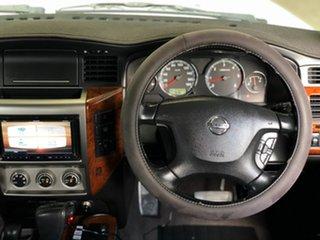 2013 Nissan Patrol GU VIII TI (4x4) White 4 Speed Automatic Wagon.