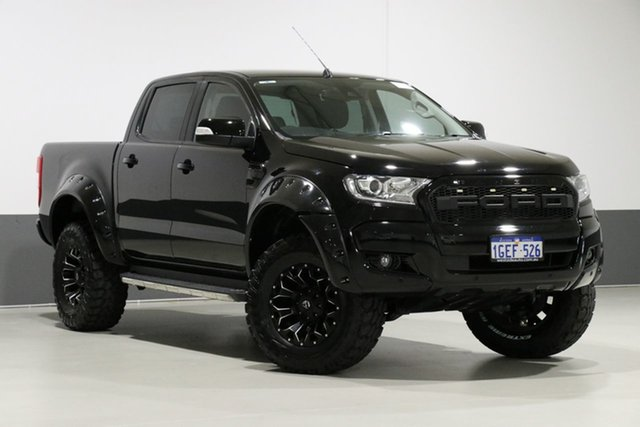 Used Ford Ranger PX MkII MY17 XLT 3.2 (4x4), 2017 Ford Ranger PX MkII MY17 XLT 3.2 (4x4) Black 6 Speed Automatic Dual Cab Utility