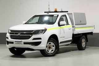 2017 Holden Colorado RG MY17 LS (4x4) White 6 Speed Automatic Cab Chassis.