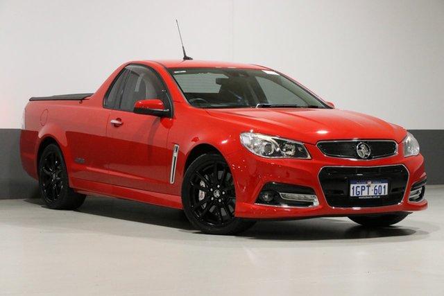 Used Holden Ute VF SS-V Redline, 2014 Holden Ute VF SS-V Redline Red 6 Speed Automatic Utility