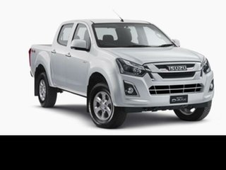 2019 Isuzu D-MAX Splash White 6 Speed Automatic Crew Cab Utility