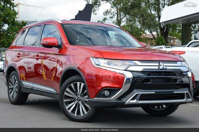 Demo Mitsubishi Outlander ZL MY20 LS 2WD, 2019 Mitsubishi Outlander ZL MY20 LS 2WD Red Diamond 6 Speed Constant Variable Wagon