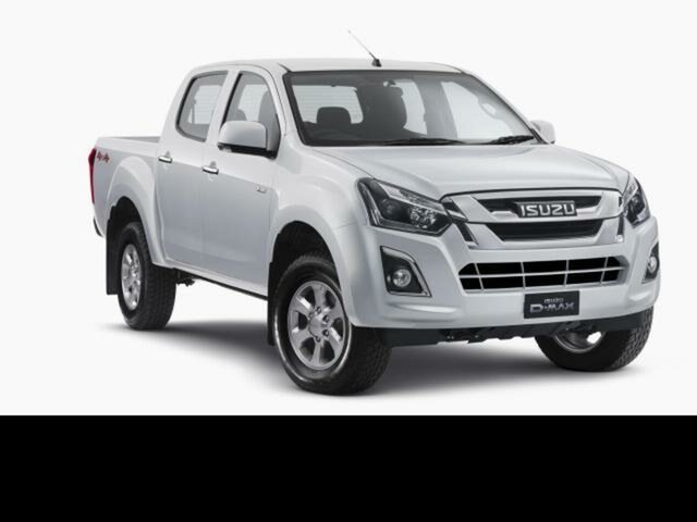 Demo Isuzu D-MAX  , 2019 Isuzu D-MAX Splash White 6 Speed Automatic Crew Cab Utility
