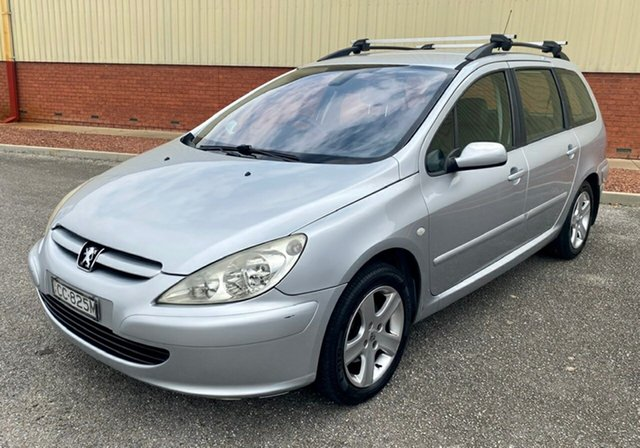 Used Peugeot 307 T5 MY04 XSE Morphett Vale, 2004 Peugeot 307 T5 MY04 XSE Silver 4 Speed Sports Automatic Hatchback