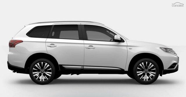 Demo Mitsubishi Outlander ZL MY20 ES 2WD, 2019 Mitsubishi Outlander ZL MY20 ES 2WD White 6 Speed Constant Variable Wagon