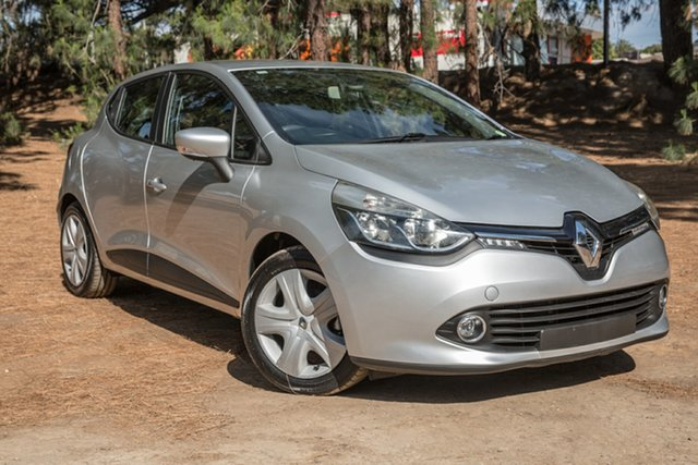 Used Renault Clio IV B98 Expression EDC, 2013 Renault Clio IV B98 Expression EDC Silver 6 Speed Sports Automatic Dual Clutch Hatchback