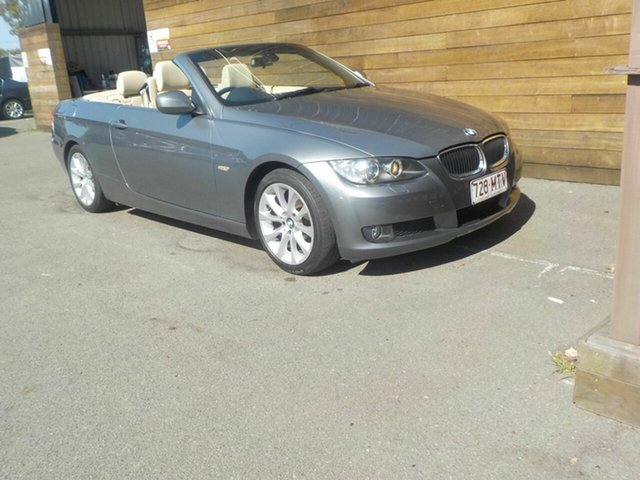 Used BMW 3 Series E93 MY10 320d Steptronic, 2009 BMW 3 Series E93 MY10 320d Steptronic Grey 6 Speed Sports Automatic Convertible