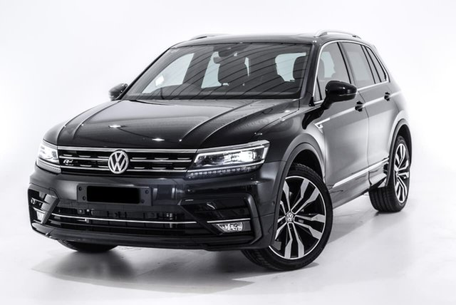 Used Volkswagen Tiguan 5N MY19.5 162TSI DSG 4MOTION Highline, 2019 Volkswagen Tiguan 5N MY19.5 162TSI DSG 4MOTION Highline Black 7 Speed