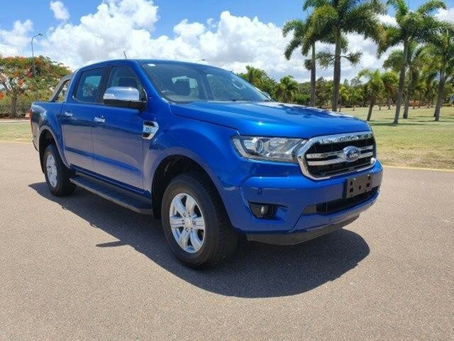 Used Ford Ranger PX MkIII 2019.00MY XLT Pick-up Double Cab 4x2 Hi-Rider, 2019 Ford Ranger PX MkIII 2019.00MY XLT Pick-up Double Cab 4x2 Hi-Rider Blue 6 Speed