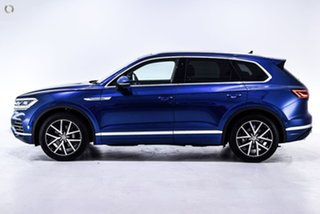2019 Volkswagen Touareg CR MY19 190TDI Tiptronic 4MOTION Launch Edition Blue 8 Speed