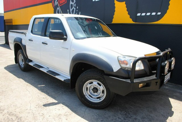 Used Mazda BT-50 UNY0E3 DX, 2008 Mazda BT-50 UNY0E3 DX Cool White 5 Speed Manual Utility