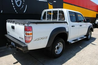 2008 Mazda BT-50 UNY0E3 DX Cool White 5 Speed Manual Utility.