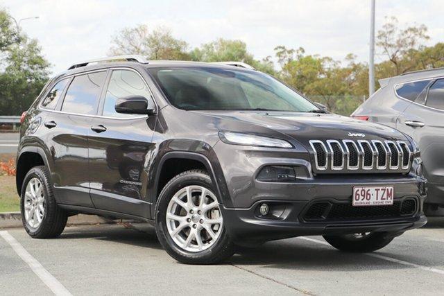 Used Jeep Cherokee KL Longitude, 2014 Jeep Cherokee KL Longitude Grey 9 Speed Sports Automatic Wagon