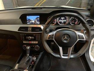 2012 Mercedes-Benz C-Class C204 MY12 C63 AMG SPEEDSHIFT MCT Performance Package White 7 Speed.