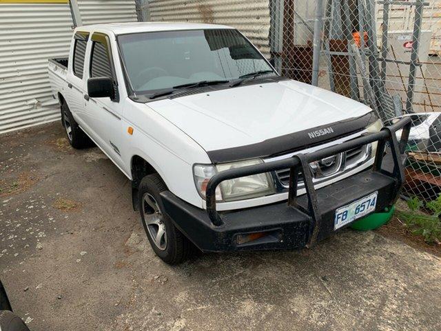 Used Nissan Navara D22 S3 ST 4x2, 2001 Nissan Navara D22 S3 ST 4x2 White 4 Speed Automatic Utility