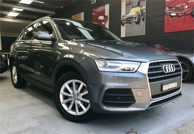 Used Audi Q3 8U TFSI, 2017 Audi Q3 8U TFSI Grey Sports Automatic Dual Clutch Wagon
