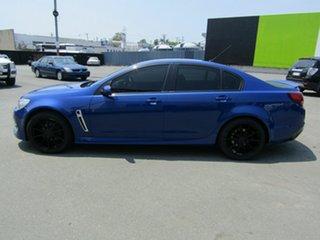 2015 Holden Commodore VF II SV6 Blue 6 Speed Automatic Sedan